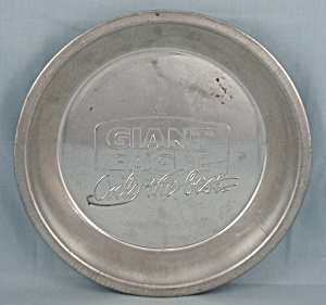 Giant Eagle Tin Pie Pan