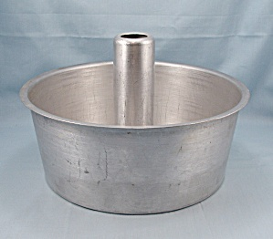 "No. 2744 - Wear-ever 10"" 2-pc Aluminum , Angel Food Cake Pan"