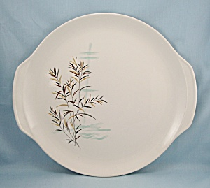 Wild Rice, Salem China, Round Platter/chop Plate 13inches, 1959