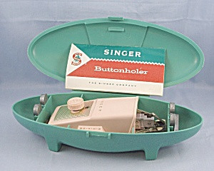 Singer - Buttonholer No. 489500 Or No. 489510 - 1960