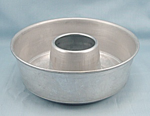 Small Aluminum Round Food, Jello Ring