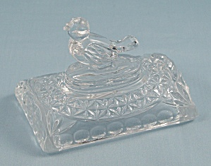 Byrdes Crystal, Lid For Chest/ Trinket Box, No Base