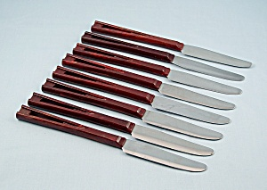 Stanhome - Table/steak Knives - 8
