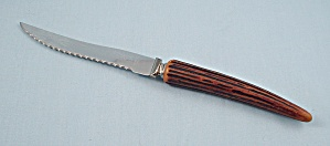 "E. Parker & Sons - Sheffield England - ""rippledge"", Steak Knife"
