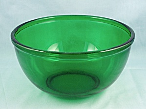 Anchor Hocking 7-inch Bowl, Forest Green, Popcorn Bowl