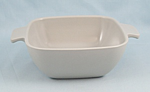 Arrowhead - Brookpark Pattern, Gray - Bowl, Tab Handles