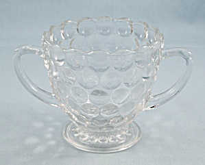 Anchorglass - Clear - Bubble Sugar Bowl
