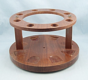 Revolving Pipe Stand / Rack - 8 Slots