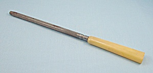 Faux Ivory Sharpener, Hone - Carving Set Item