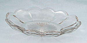 "Cambridge Eapg ""colonial"" Pattern Oval Relish"