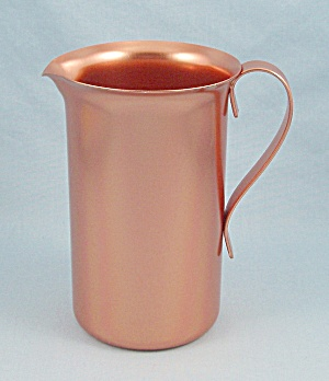 Color Craft - Small Copper Tone Anodized Aluminum Pitcher, 13 Oz.