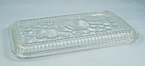 Refrigerator Dish, Replacement Lid - Fruit Pattern - 8-1/2 X 5