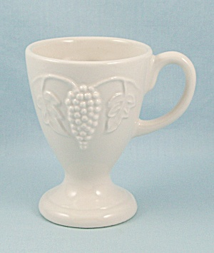 Red- Cliff Ironstone Custard Cup