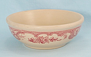 Majestic, Cereal Bowl - Vintage Wellsville China