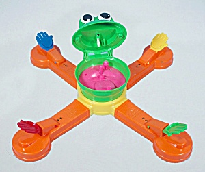 Mr. Mouth Game, Milton Bradley, 1999, Replacement Game Base With Head And Arms