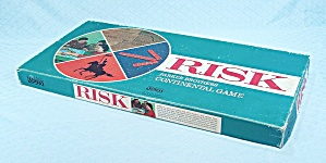 Risk, Wooden Pieces, Game, Parker Brothers, 1968