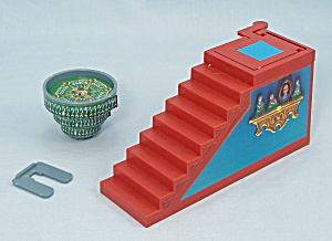13 Dead End Drive Game, Milton Bradley, 1993, Replacement Stairway Trap