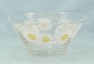 Dip Bowl, For Chip N Dip Set, Anchor Hocking - Daisy
