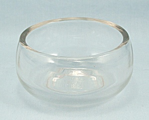 Vintage Glass Moistener Cup - No. 3