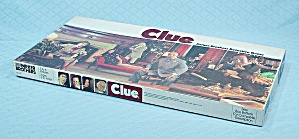 Clue Game, Parker Brothers, 1972