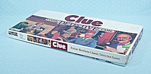 Clue Game, Parker Brothers, 1986