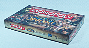Monopoly World Of Warcraft, Collector's Edition, Usaopoly, 2014, Nib