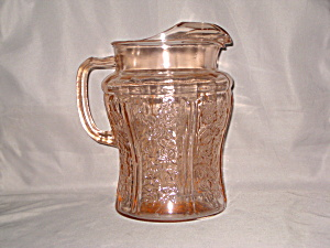 Pink Sharon Large Ice Lip Pitcher