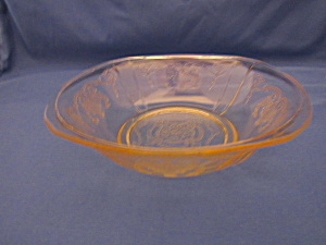 Yellow Lorain Basket Cereal Bowl