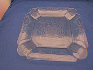 Yellow Lorain Basket Salad Plate