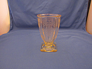 "Yellow Lorain Basket 5"" Tumbler"