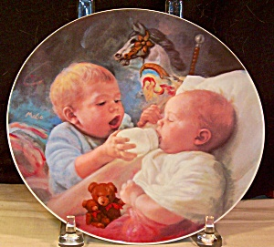 Christopher And Kate By Mago Collector's Plate-1989