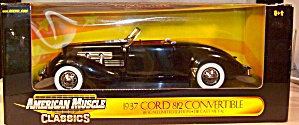 1937 Cord 812 Convertible 1:18th By Ertl