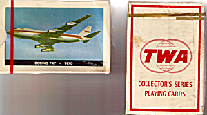 Deck Of Twa 747 Playing Cards Sealed In Box