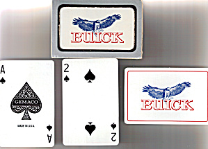 Buick Playing Cards