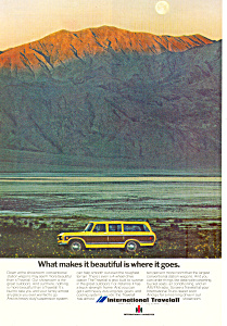 Travelall International Harvester 1973 Ad