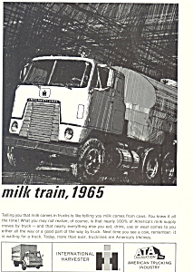 International Harvester Trucks 1965 Ad
