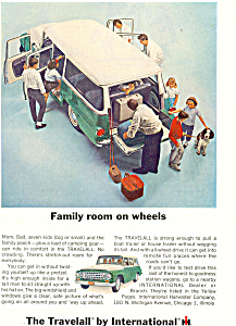 Travelall International Harvester 1964 Ad