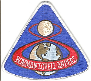 Apollo 8 Nasa Space Patch