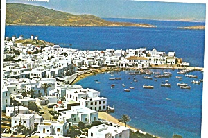 Mykonos Greece Picturesque View