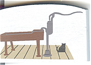 Cat's Meow Accessory Pump Trough Brickerville Pa 1992