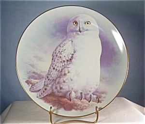 The Snowy Owl Collectors Plate