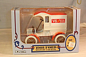 1905 Ford Delivery Bank, By Ertl-v&s Stores