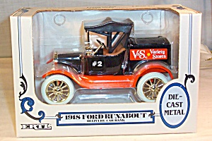 1918 Ford Runabout Delivery Bank, By Ertl-v&s Variety