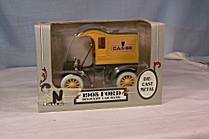 Ertl 1905 Ford Delivery Car Coin Bank Case
