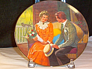 Courting -by Robert Berran - Collector's Plate