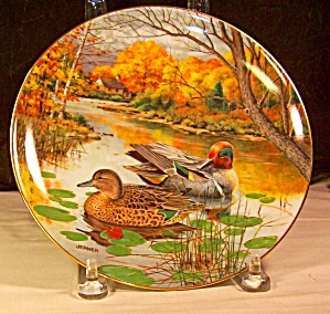 The Green-winged Teal Collector's 1987 Plate