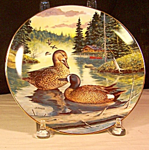 The Blue Winged Teal Collector Plate By Wayne Anderson