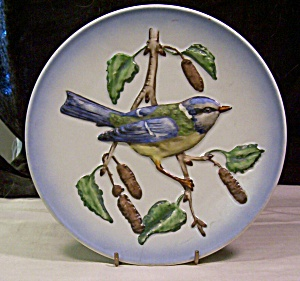 1974 Blue Titmouse Collector's Plate By Goebel