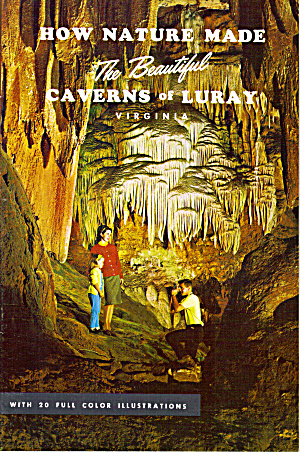 Souvenir Booklet Of Caverns Of Luray, Va