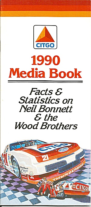 1990 Media Book Citgo Wood Brothers P0837